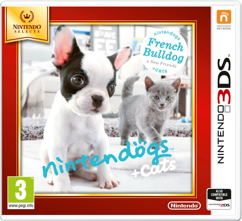 Gra Nintendogs+Cats-French Bull&new Friends -Nintendo Selects (Nintendo 3DS)