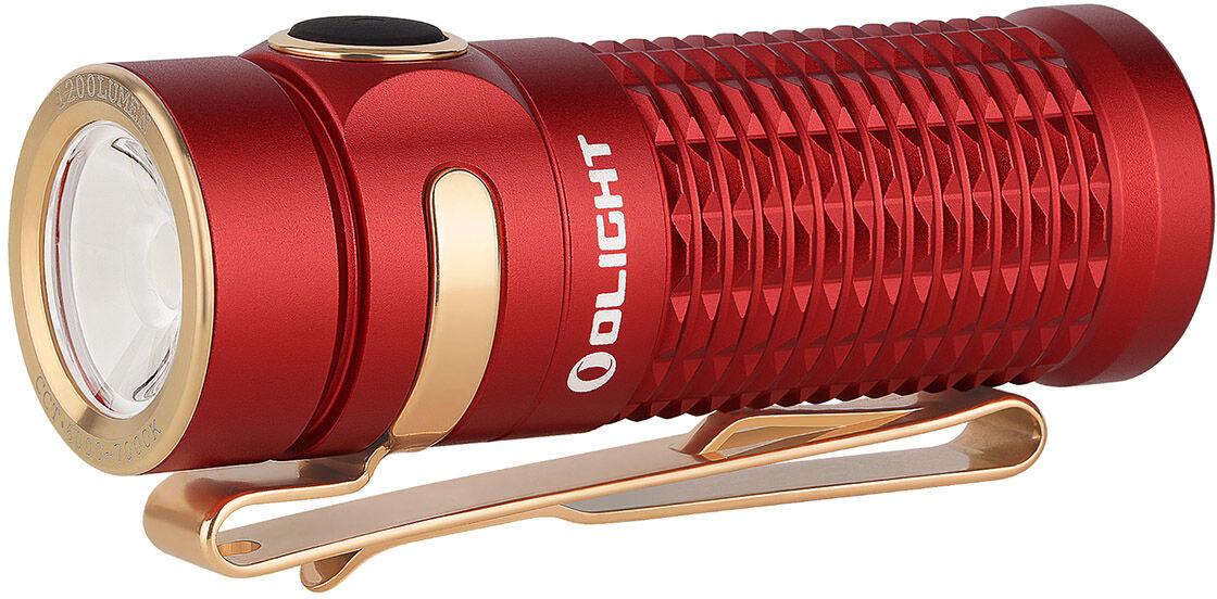 Latarka akumulatorowa Olight Baton 3 Red - 1200 lumenów