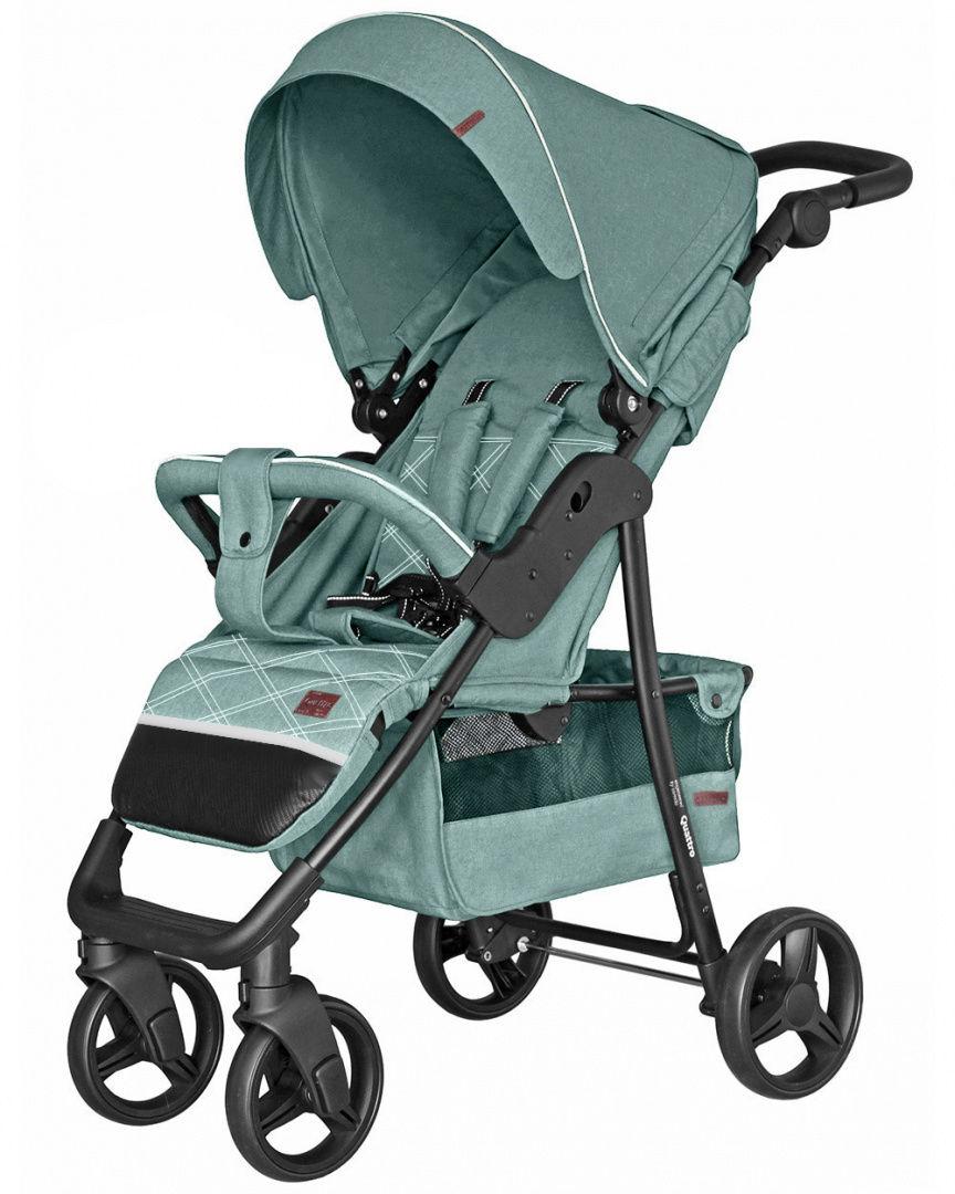Wózek dziecięcy spacerowy CARRELLO Quattro Green