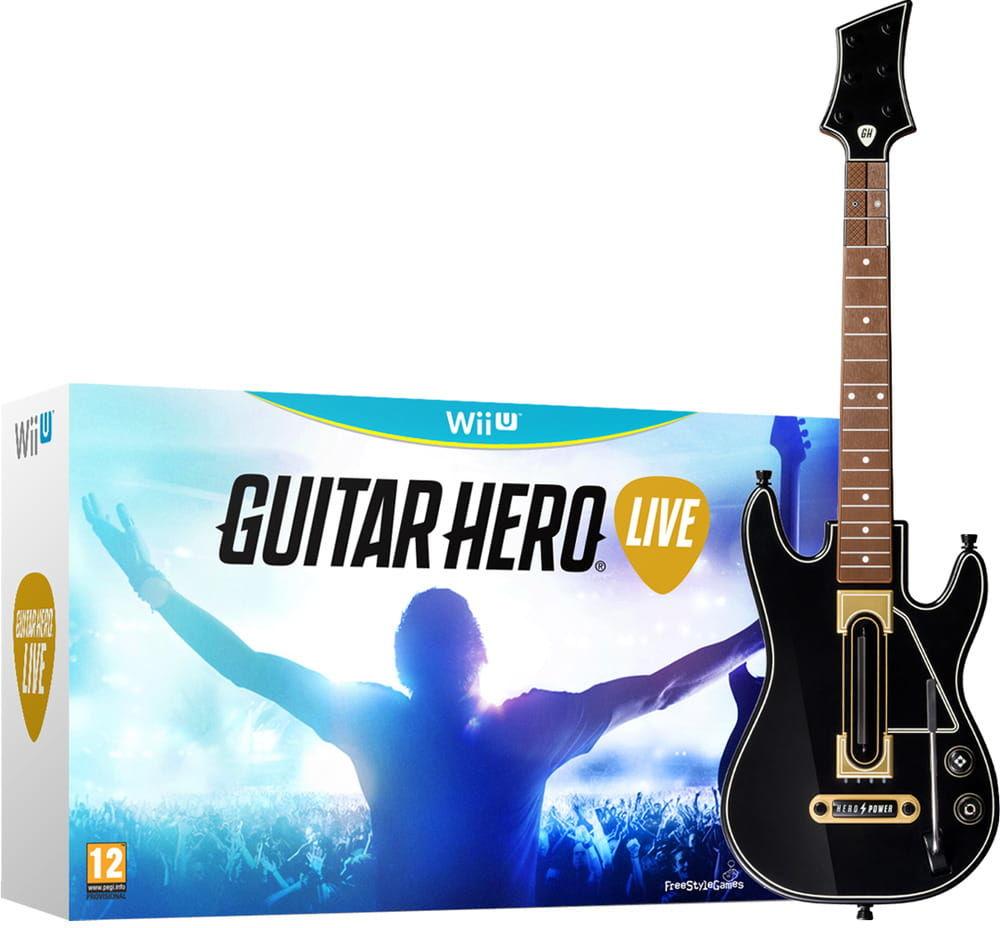 Gra Guitar Hero Live + gitara (Nintendo WiiU)