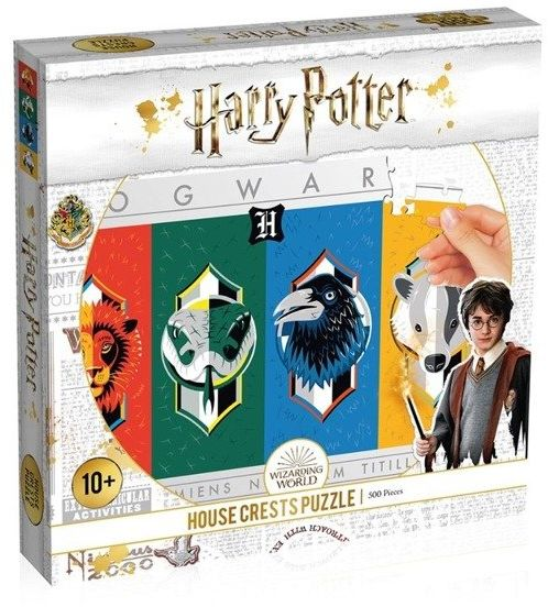 Puzzle 500 Harry Potter House Crest Herby