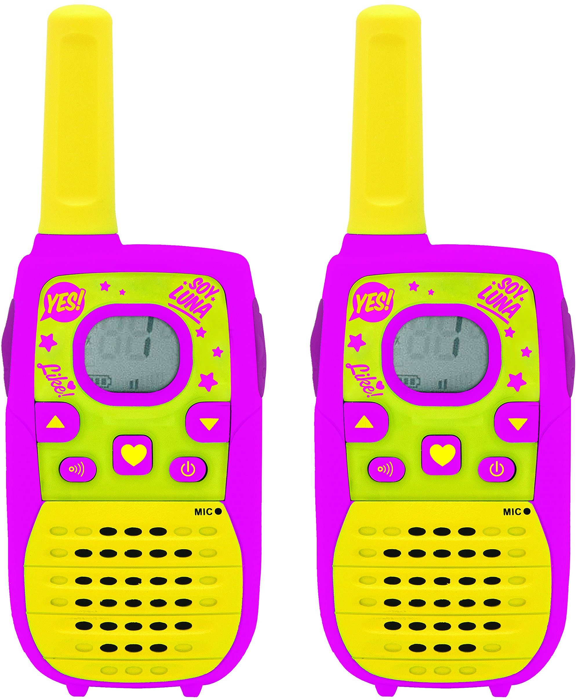 Lexibook TW41SL Soy Luna Disney cyfrowe Walkie-Talkie