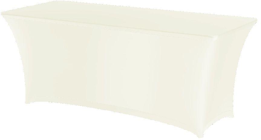 Obrus prostokątny SYMPOSIUM biały
