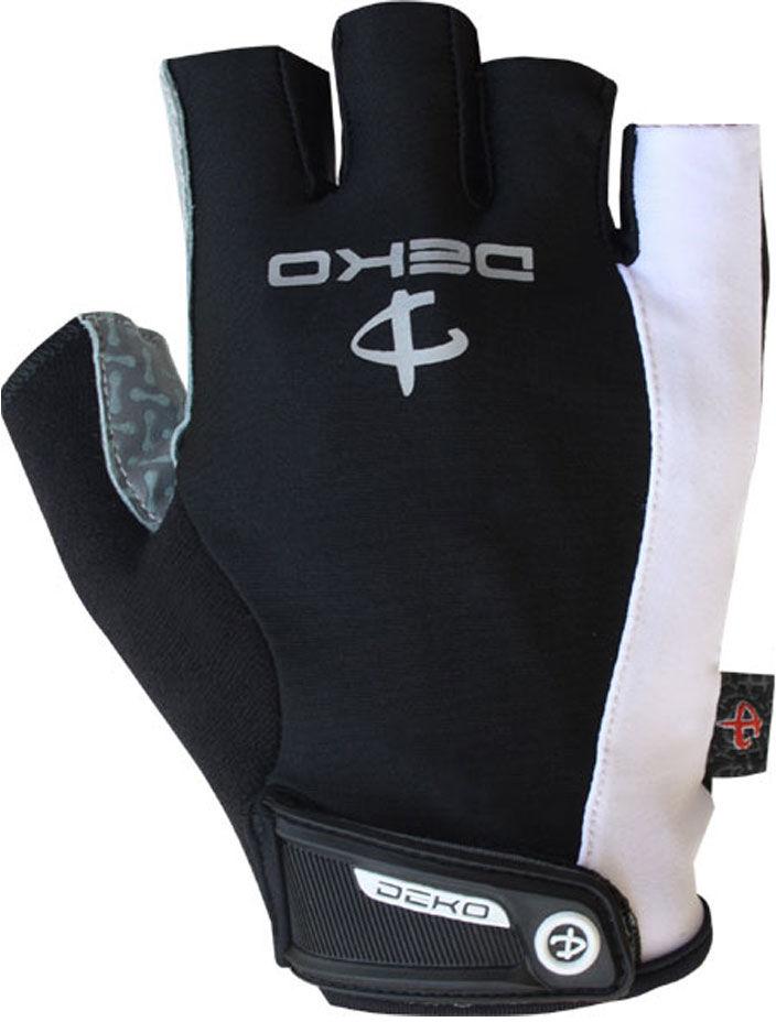 DEKO rękawiczki rowerowe czarne DKSG-132A Rozmiar: 2XL,Deko-gloves-czarne-132A