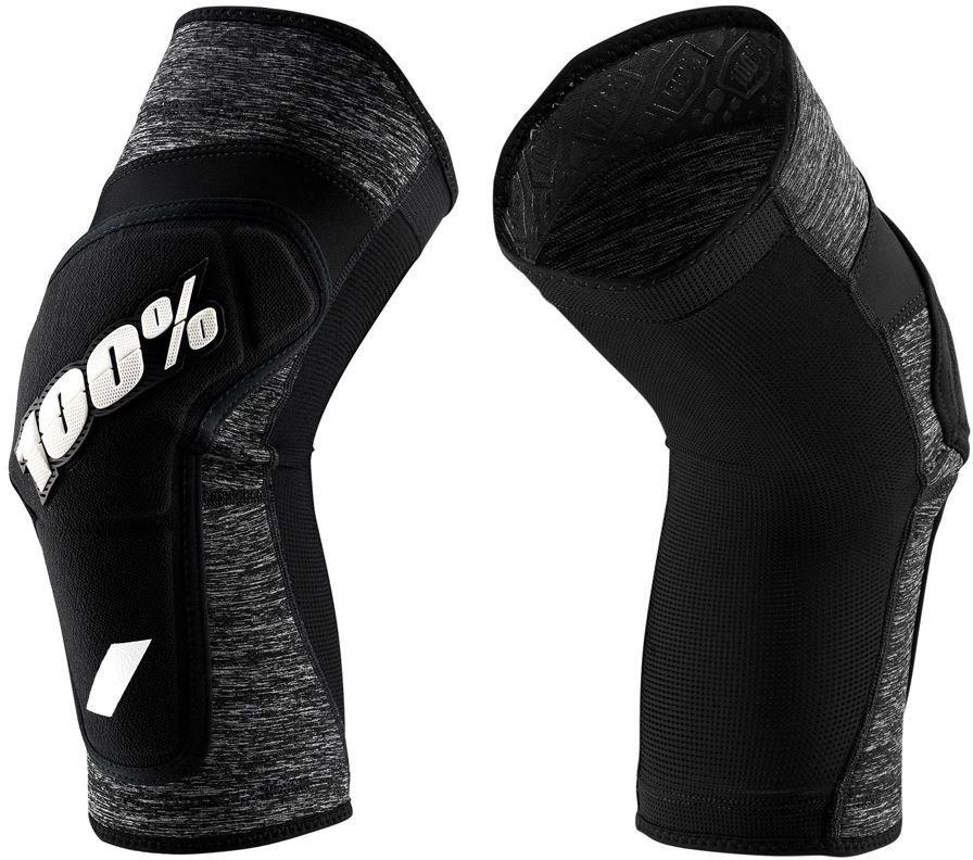 100% ochraniacze na kolana RIDECAMP grey heather black STO-90240-303-13 Rozmiar: S,STO-90240-303-13