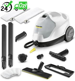 SC 4 Premium Home Line EasyFix Parownica, mop parowy Kärcher + dysza do okien + szczotki + tekstylia NEGOCJUJ CENĘ! => 794037600, GWARANCJA 2 LATA, DOSTAWA OD RĘKI!