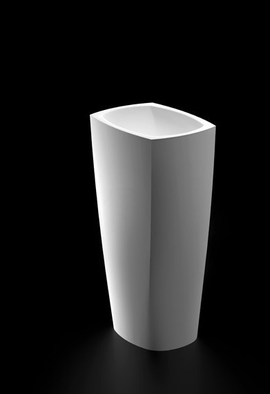 Marmorin Isar umywalka wolnostojąca biała 45,5x32,8x85cm P598040020010 __DARMOWA DOSTAWA__