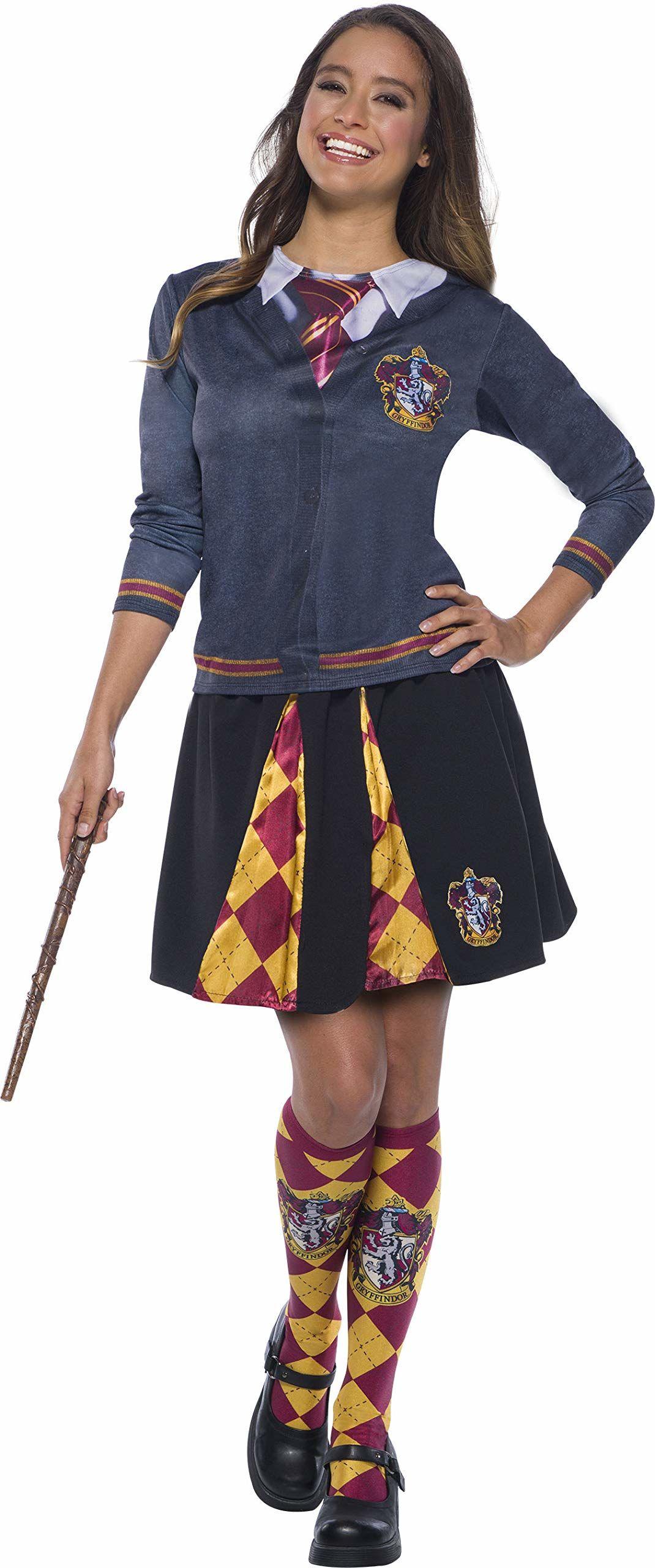 Rubie''s 821144_S-000-S oficjalna damska część kostiumu Harry Potter, 821144, Gryffindor, S