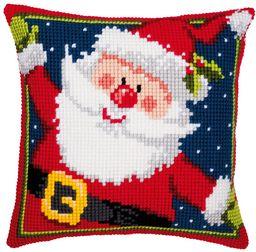 Vervaco Ojciec Boże Narodzenie ścieg krzyżowy poduszka, wielokolorowa