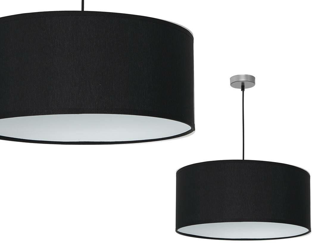 Lampa wisząca CASINO BLACK/CHROME 1xE27