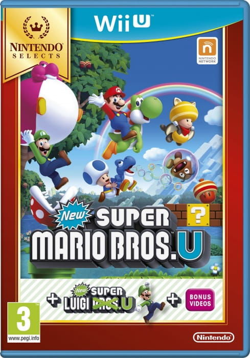 Gra New Super Mario Bros. U + New Super Luigi U Nintendo Selects (WiiU)
