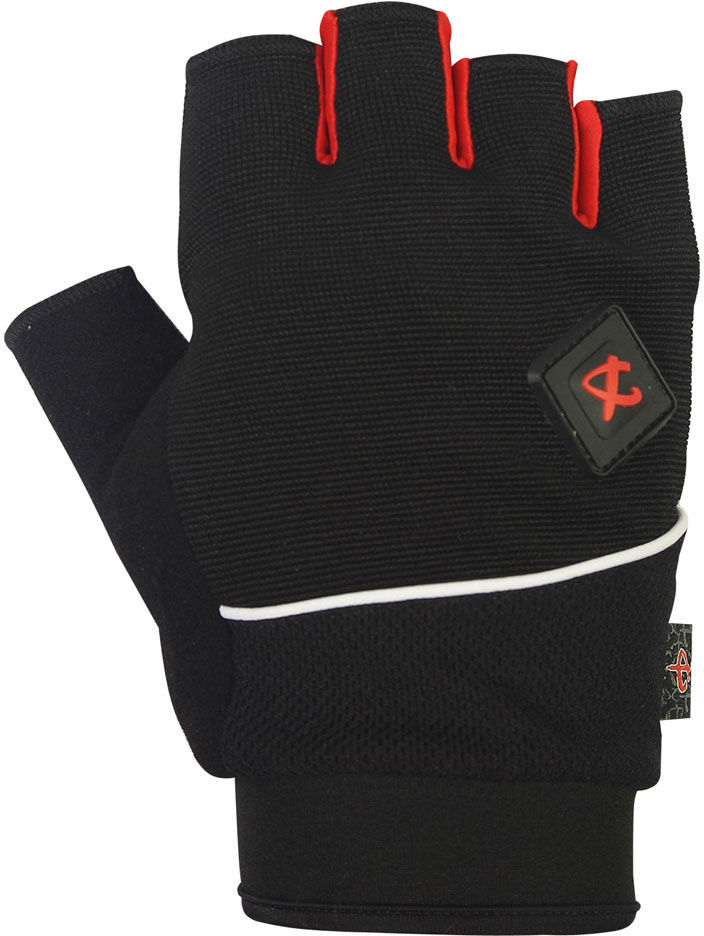 DEKO rękawiczki rowerowe czarne DKSG-512 Rozmiar: M,Deko-gloves-czarne