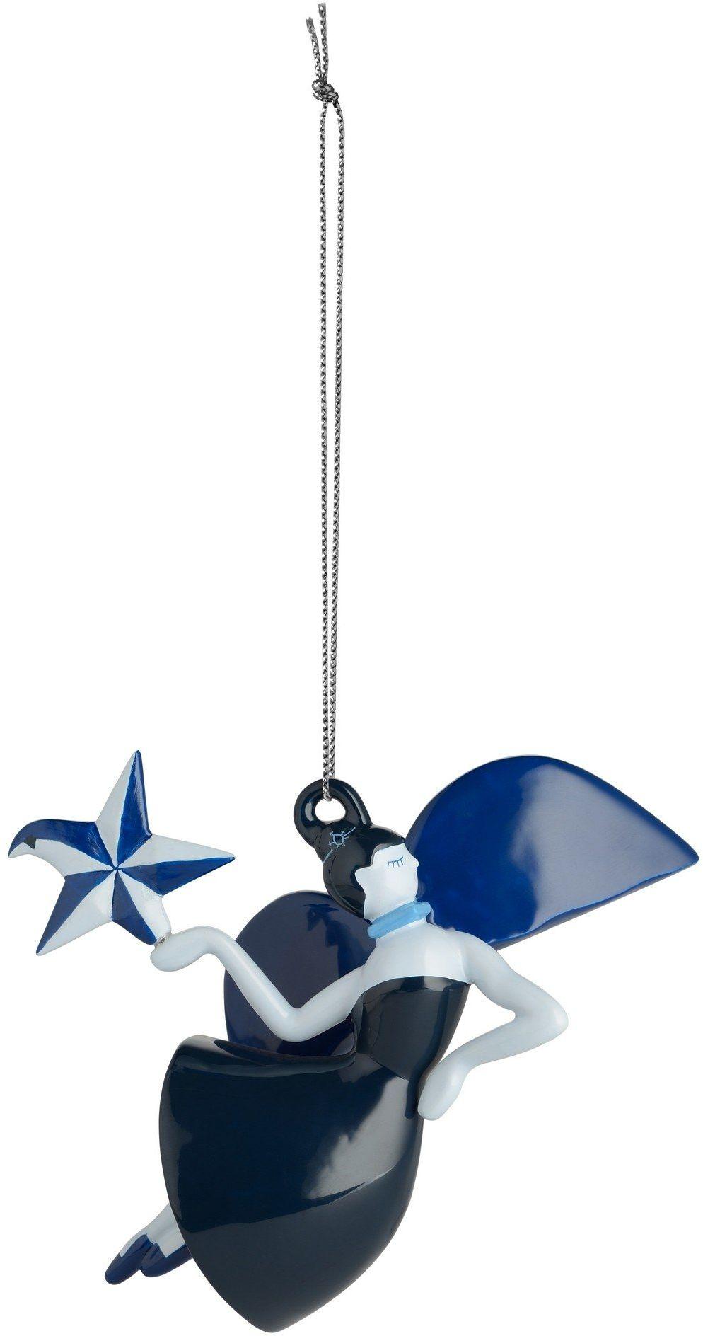 Alessi Ozdoba bożonarodzeniowa, niebieski, 10,9 x 5,7 x 8,7 cm