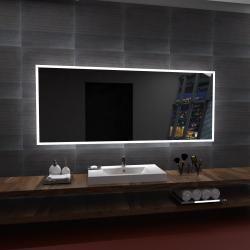 Lustro LED BOSTON 80x60cm.