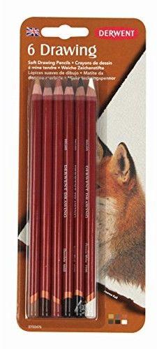 Zestaw Kredek Derwent Drawing 6 kolorów