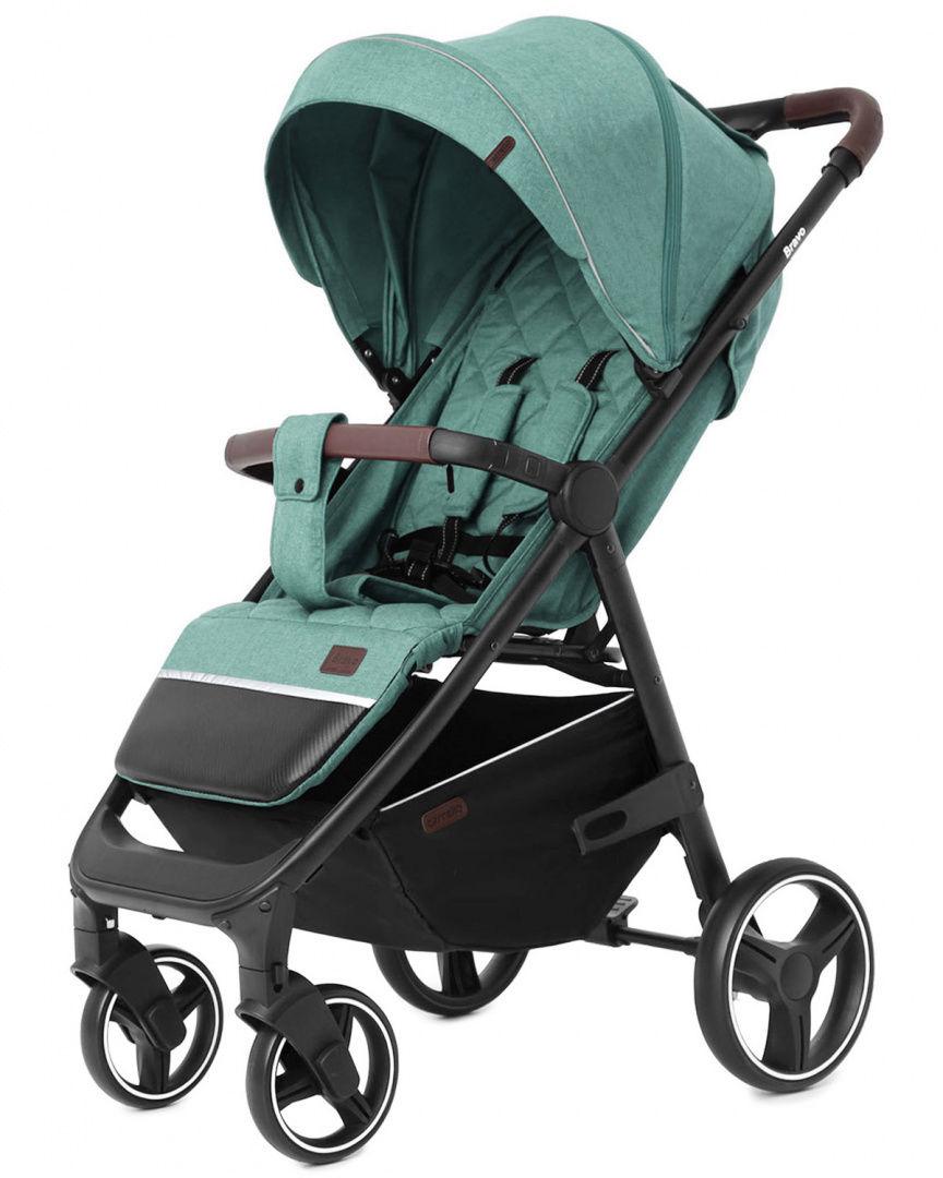 Wózek dziecięcy spacerowy CARRELLO Bravo Green