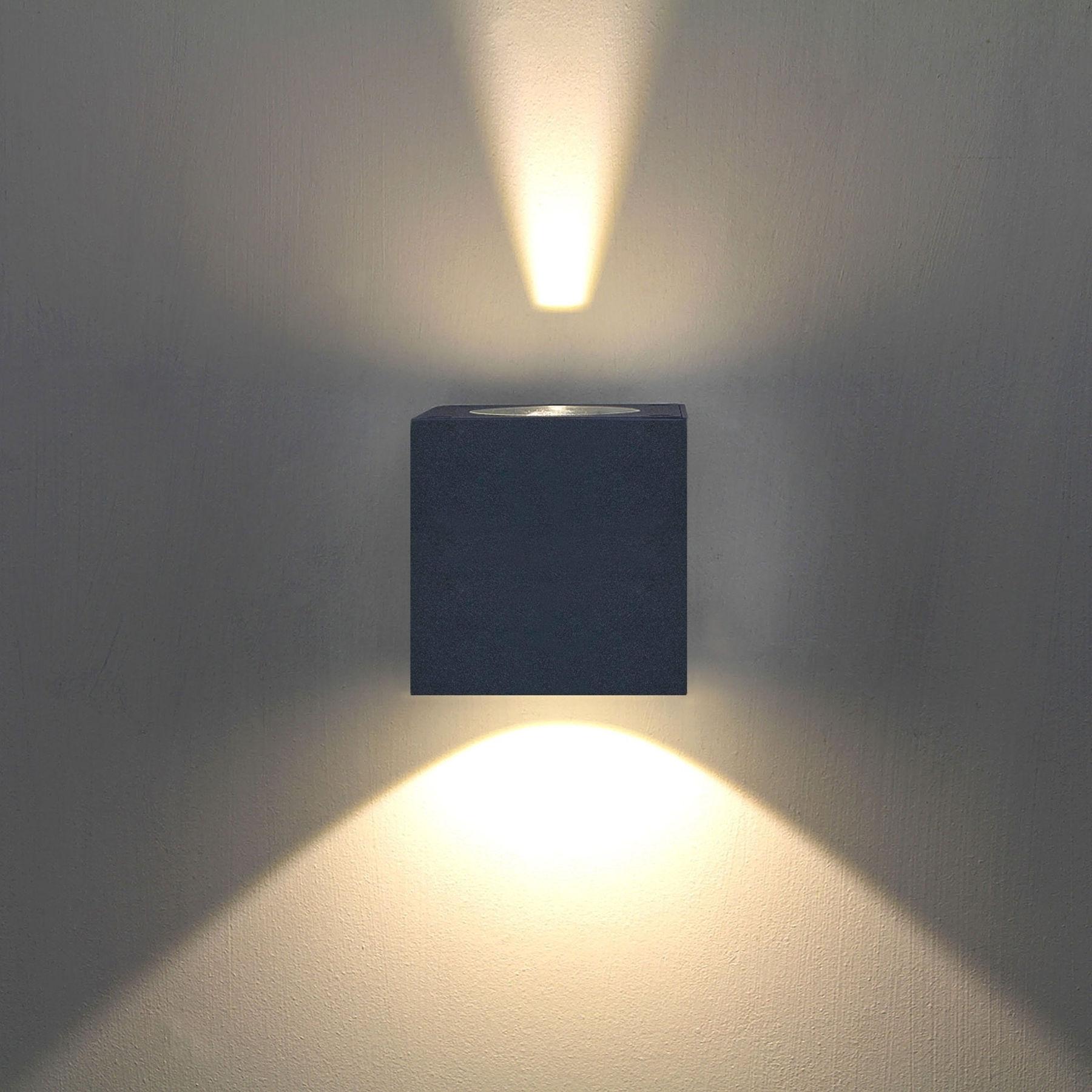 Lampa ścienna zewnętrzna LED Jarno grafitowa
