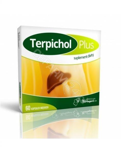 Terpichol Plus 60 kapsułek