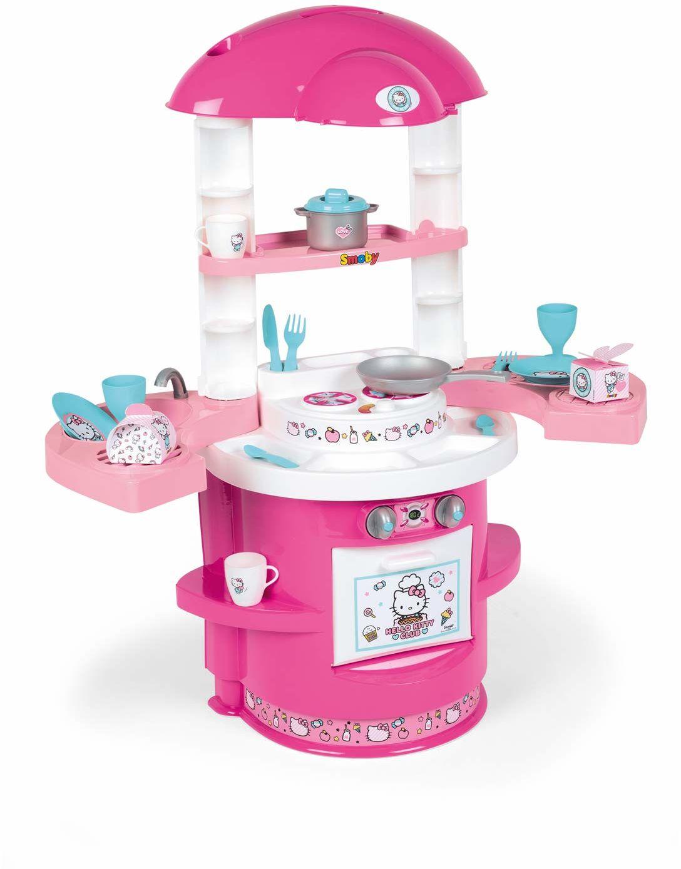 Smoby Hello Kitty  kuchnia z 17 akcesoriami, dla dzieci w wieku od 3 lat  72 x 30 x 80 cm