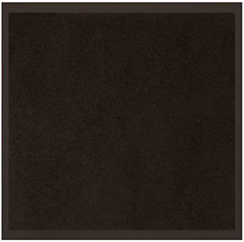 Tapis Deco wycieraczka antypoślizgowa 60 x 80 UNI Noir, poliester, czarna