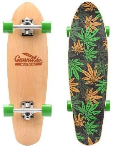 Deskorolka Cruiser Cannabis Meteor