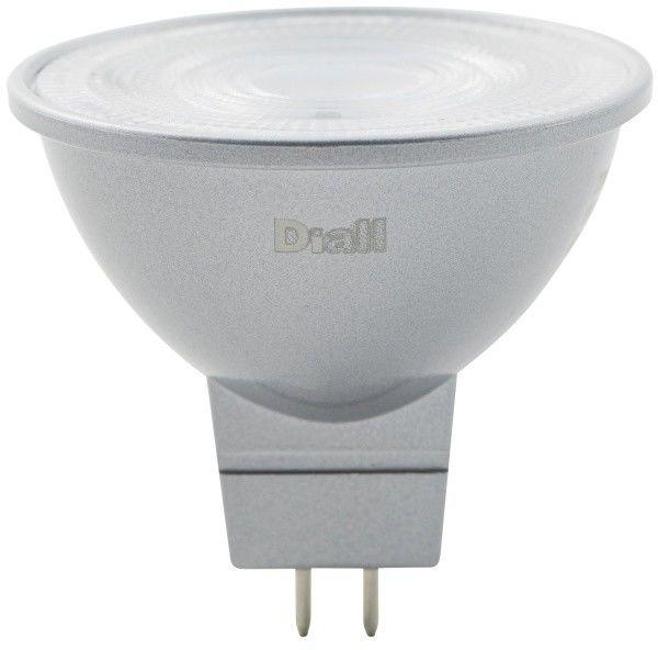 Żarówka LED Diall MR16/GU5.3 8 W 621 lm przezroczysta barwa ciepła DIM