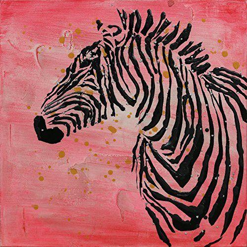 One Couture Obraz olejny zebra motyw dekoracja ścienna obraz obrazy obrazy obrazy salon