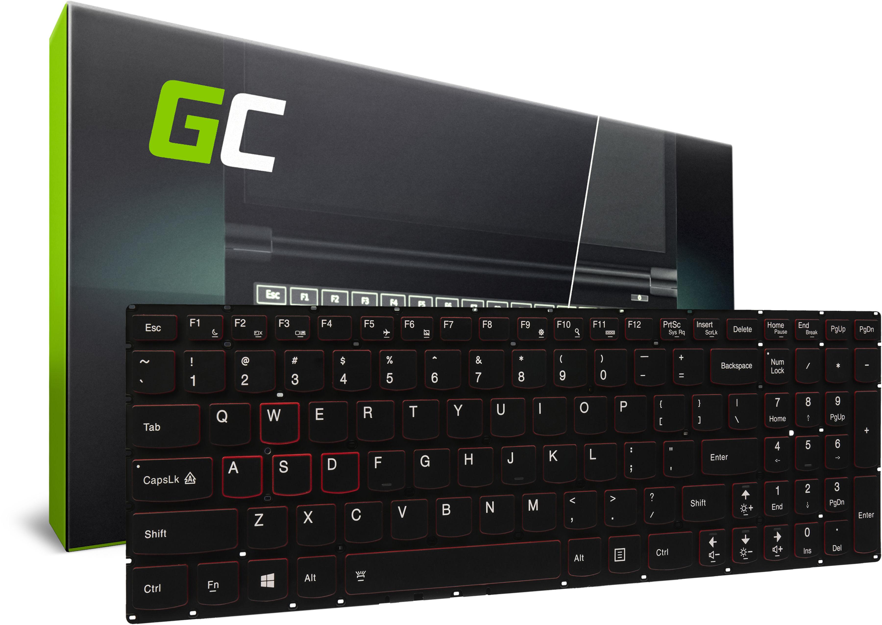 Klawiatura Podświetlana do Laptopa Lenovo IdeaPad Y700 Y700-15ISK Touch