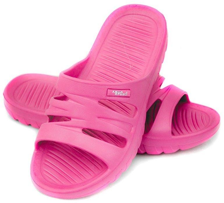Klapki basenowe AquaSpeed Vena 03 różowe Rozmiar buta: 32