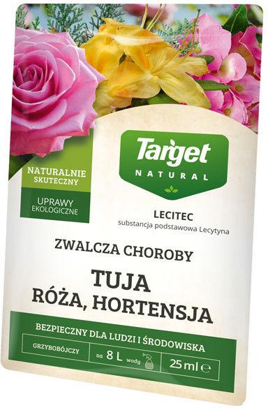 Preparat grzybobójczy Target Lecitec róża, hortensja, azalia 25 ml