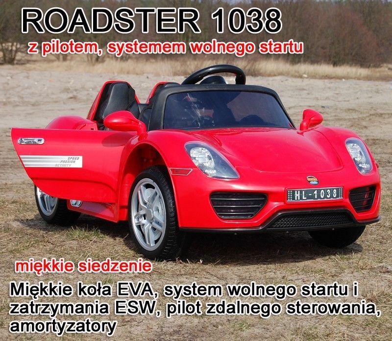 AUTO ROADSTER EXCLUSIVE, MIĘKKIE SIEDZENIE/1038