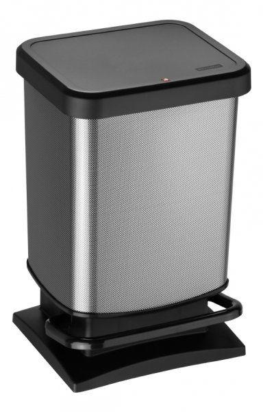 Kosz na śmieci PASO 20L carbon
