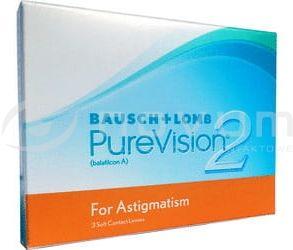 PureVision 2 HD for Astigmatism - 3 sztuki