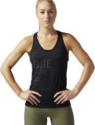 Reebok damska koszulka bez rękawów CF Strength II Tank, czarna, 2XS