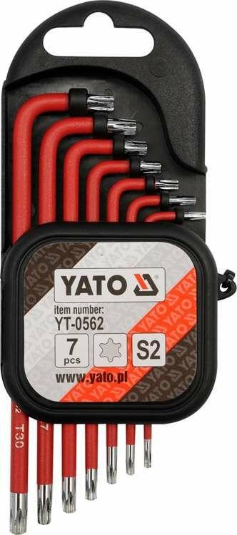 Zestaw kluczy imbusowych powlekanych torx 10 cz. Yato YT-0562 - ZYSKAJ RABAT 30 ZŁ