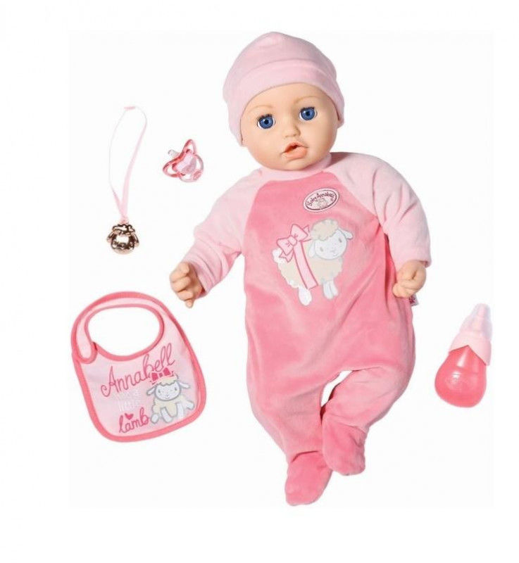 Baby Annabell - Nosidełko dla lalki Fotelik przenośny 2w1 703120