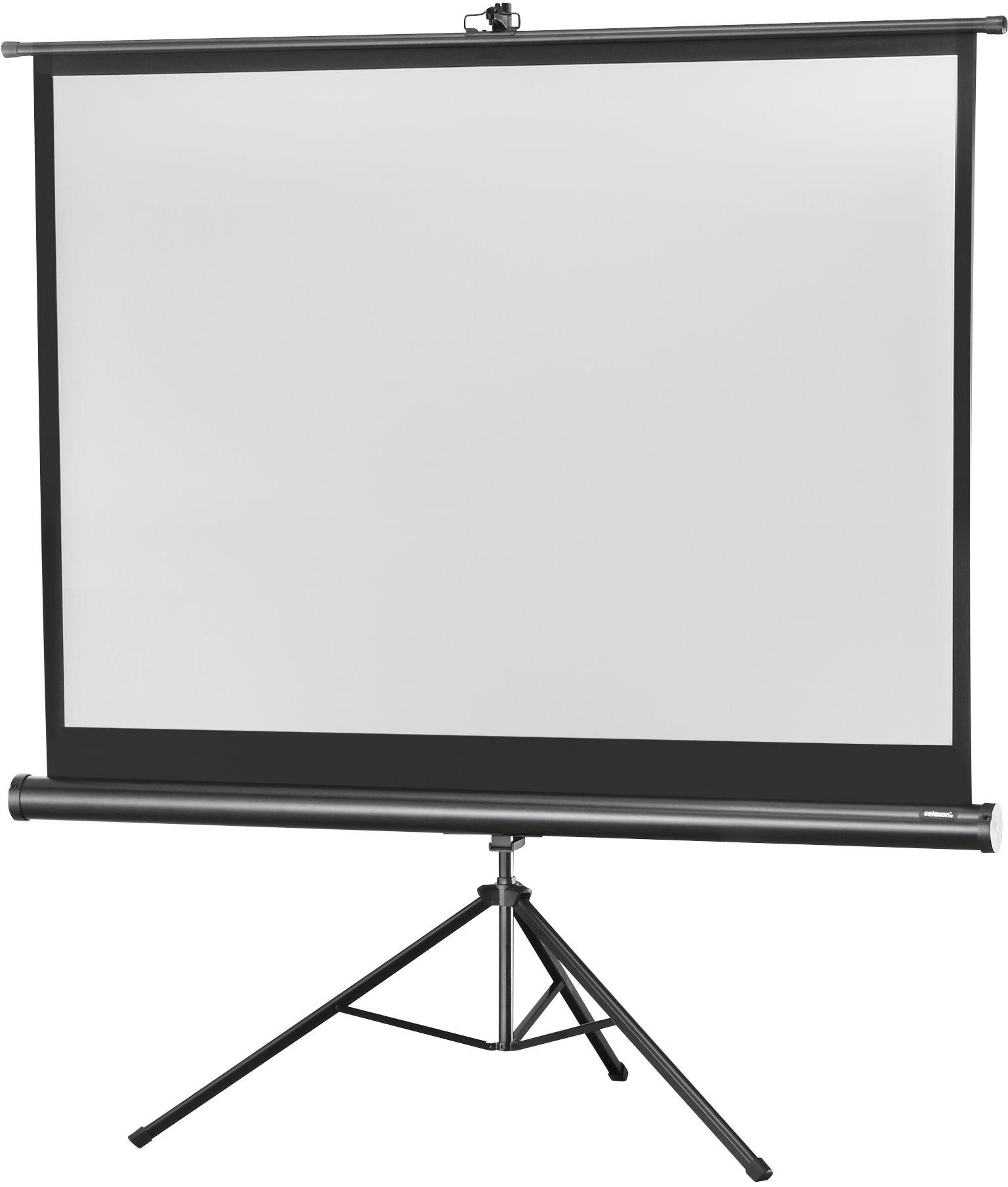 celexon Economy 176 x 132 cm ekran projekcyjny na trójnogu - Biala edycja