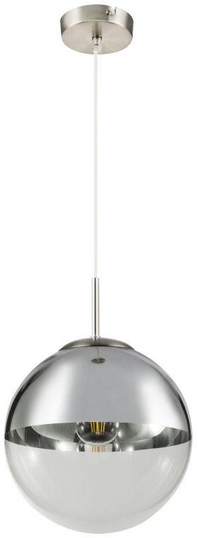Globo VARUS 15852 lampa wisząca chrom 1xE27 40W 25cm