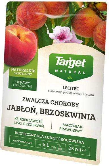 Preparat grzybobójczy Target Lecitec jabłoń, brzoskwinia  25 ml