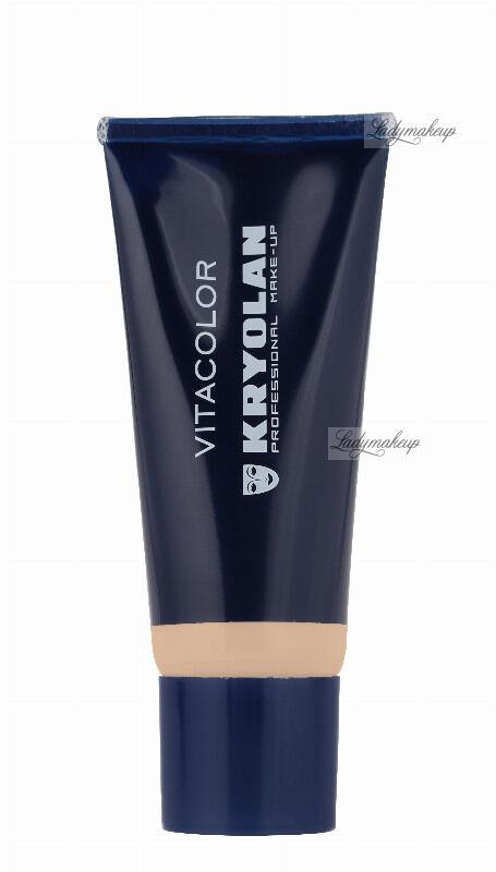 KRYOLAN - VITACOLOR - Cream Foundation With High Covering Powder - Mocno kryjący podkład - 40 ml - ART. 1021 - FS 45