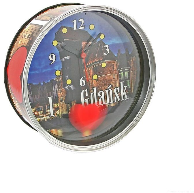 Zegar w puszce duży Gdańsk