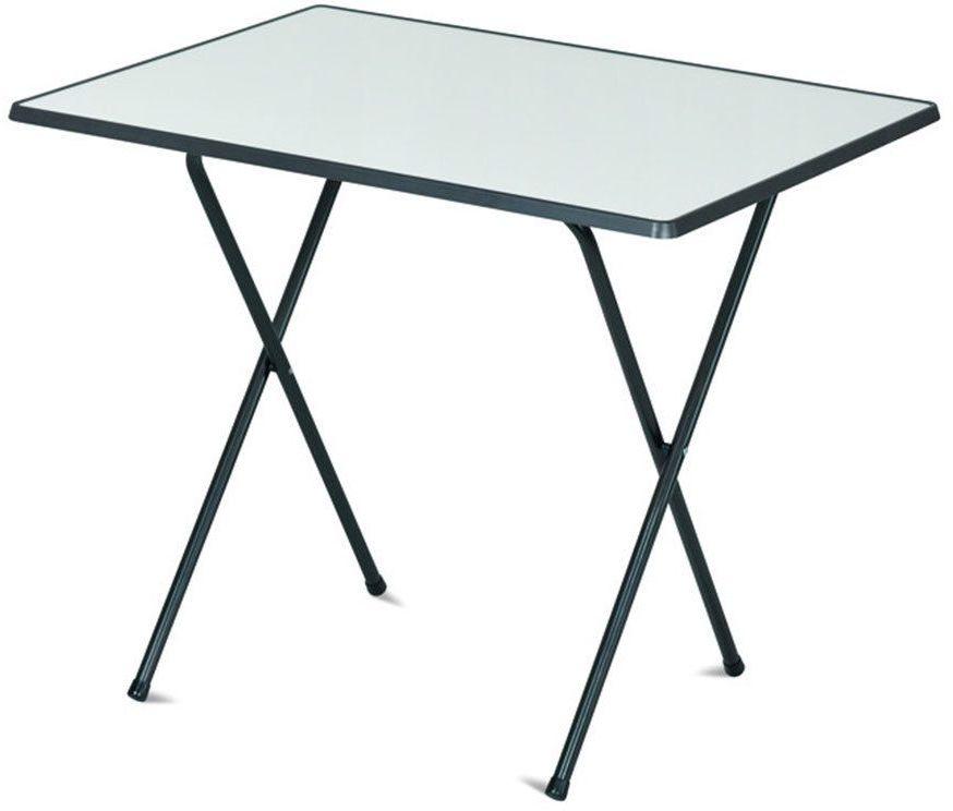 Stół kempingowy SEVELIT 60x80 antracytowy / biały