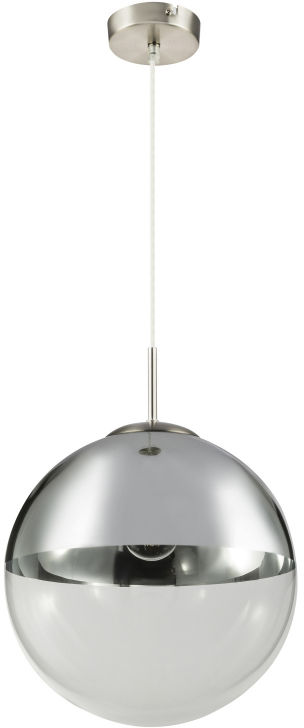 Globo VARUS 15854 lampa wisząca chrom 1xE27 33cm