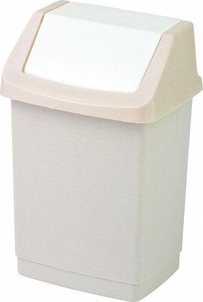Kosz na śmieci Click-It 50L beżowy