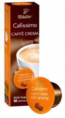 Kawa w kapsułkach TCHIBO Cafe Crema Rich Aroma 10 kapsułek. Kup taniej o 40 zł dołączając do Klubu