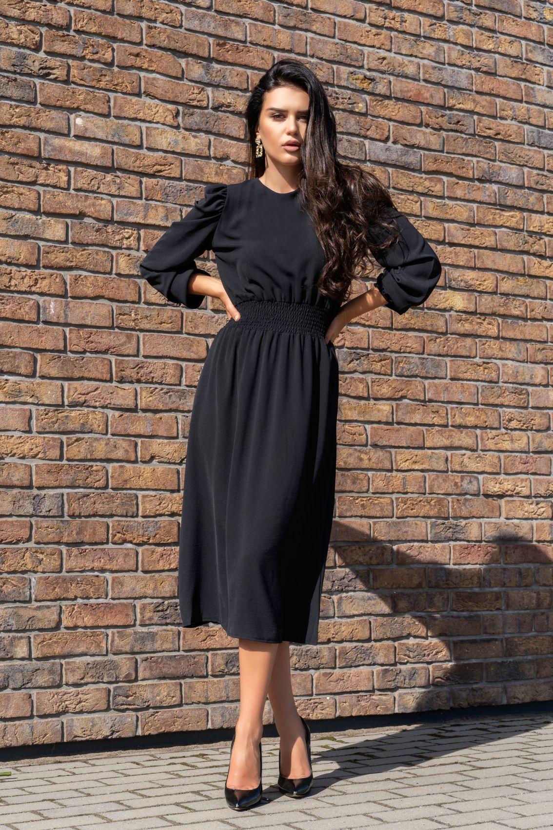 Bouquetina Black D8 sukienka