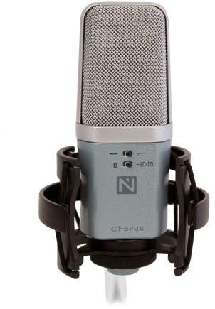 Nowsonic CHORUS - mikrofon pojemnościowy, 145dB SPL, case