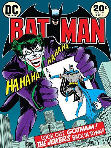 DC Comics Batman The Joker Is Back In Town płótno, 60 x 80 cm