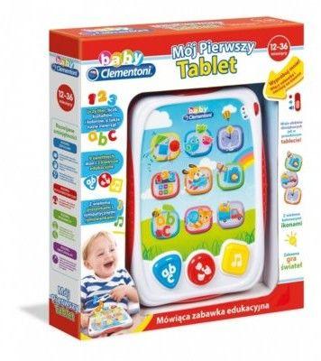 CLEMENTONI BABY Mój pierwszy tablet 60956