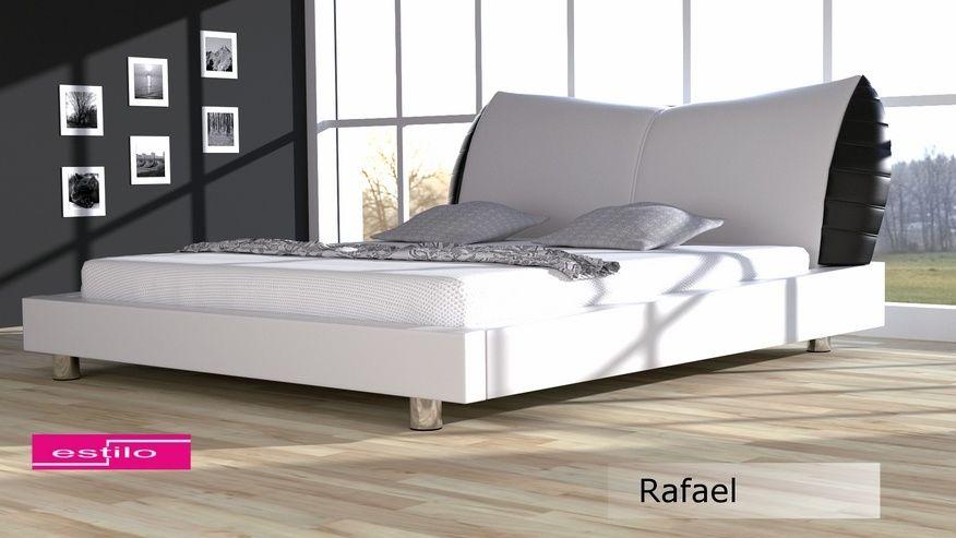 Łóżko tapicerowane Rafael - skóra ekologiczna